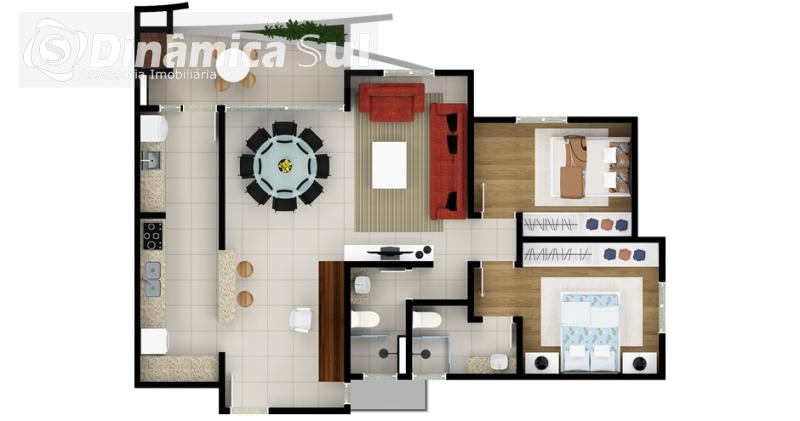 Apartamento em Timbó- Bairro Centro