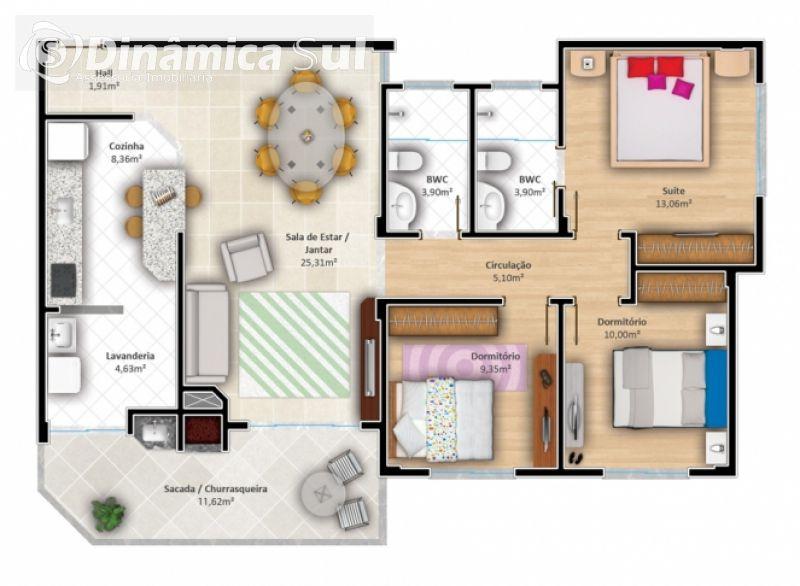 Apartamento em Navegantes- Bairro Gravatá