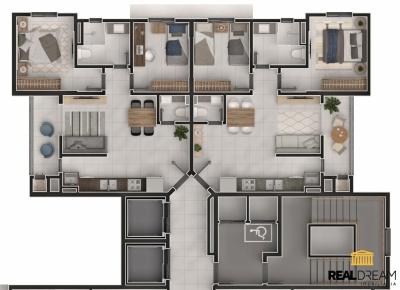 Apartamento 2 dormitórios Velha Central - Blumenau, SC