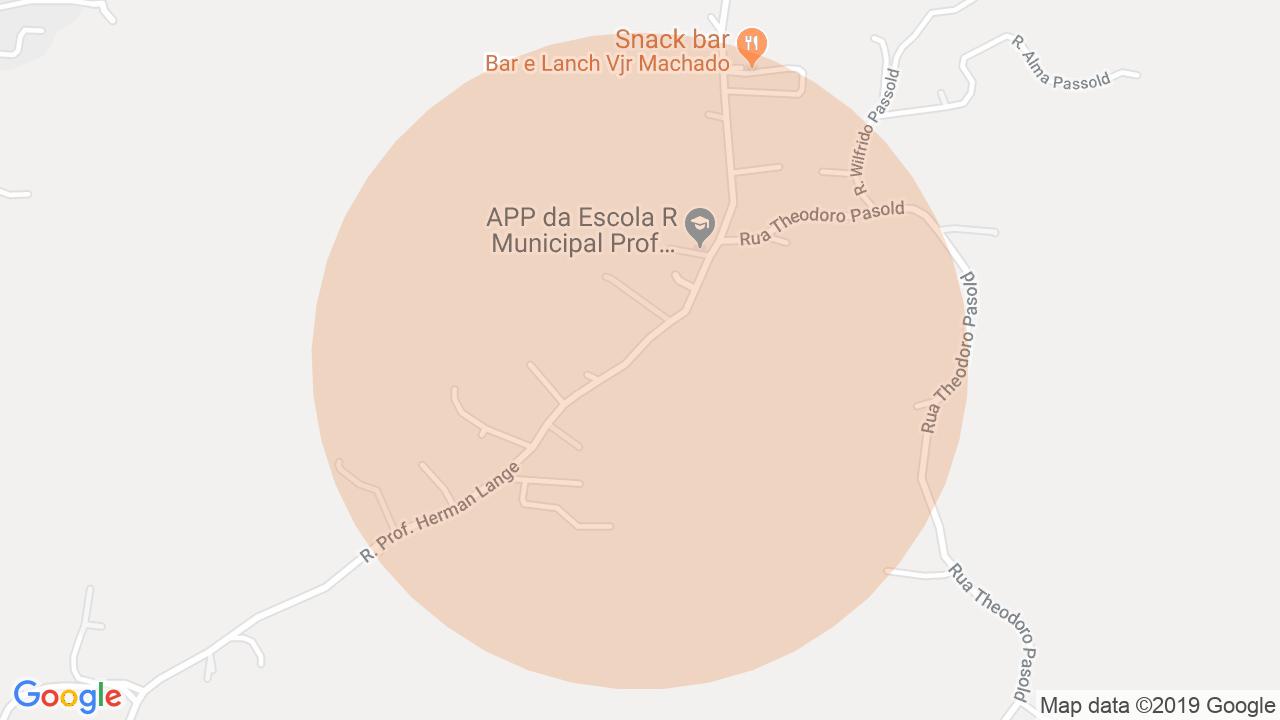 Localização Lote/Terreno Fidélis - Blumenau, SC