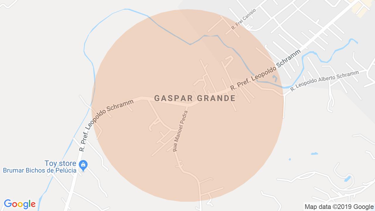 Localização Lote/Terreno Gaspar Grande - Gaspar, SC