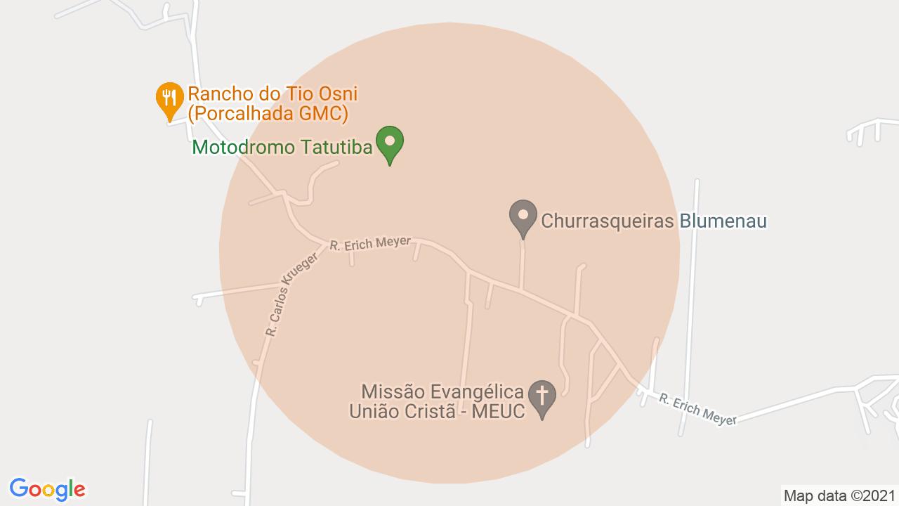 Localização Sítio 3 dormitórios Itoupava Central - Blumenau, SC